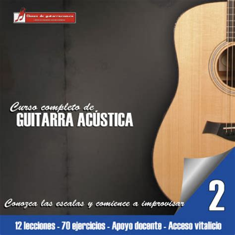 libro curso completo de guitarra conozca nuestro curso completo de guitarra ac 250 stica