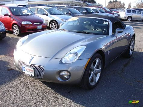 pontiac solstice colors 2007 sly gray pontiac solstice roadster 3572778