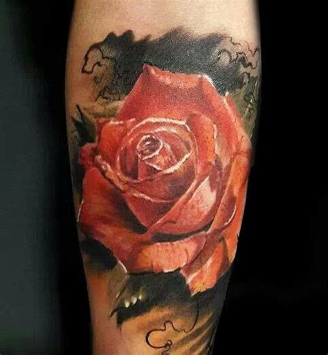 tattoos rose tattoos pinterest