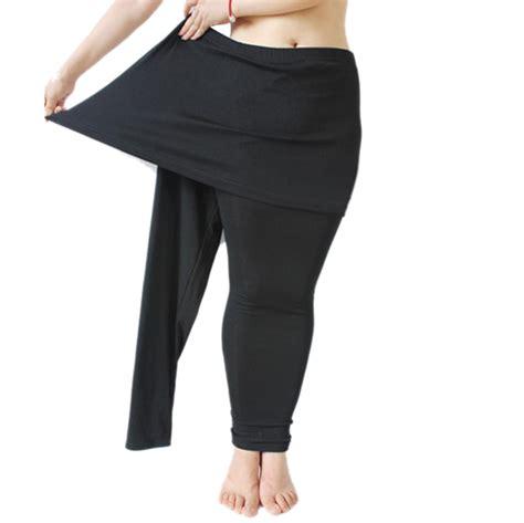Skirt Legging Black opentip gogo team s basic skirt plus