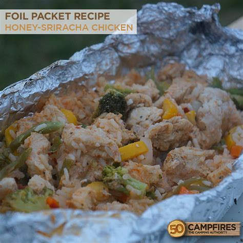 chicken foil packets cing