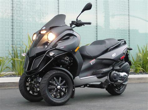 2011 piaggio mp3 500 three wheeler motorcycle custom