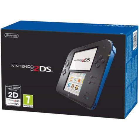 nintendo 2ds console nintendo 2ds console black blue nintendo official uk