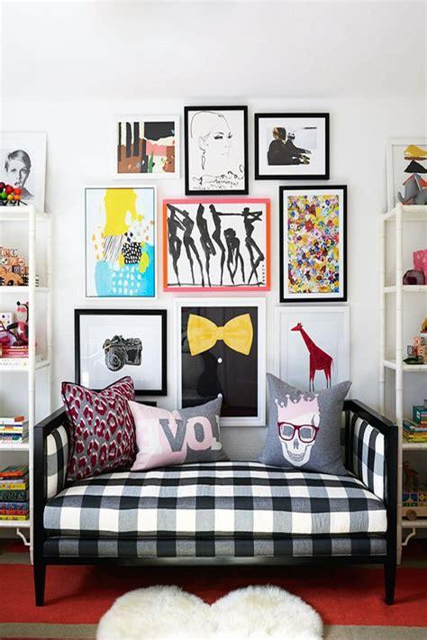modern and flashy pop inspired interior design