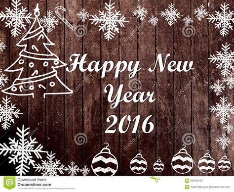 new year 2016 wood and new year 2016 frame on wood background