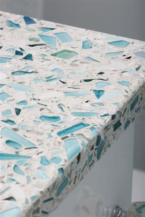 How To Make A Recycled Glass Countertop by Best 25 Recycled Glass Countertops Ideas On