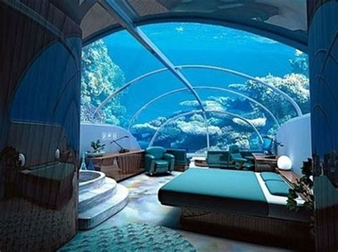 fish tank bedroom aquarium bed bedroom blue coral marine image 61132 on favim com