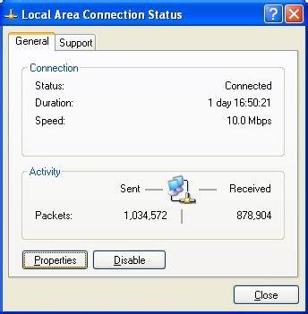 setup local xp badri 135 setting lan windows xp