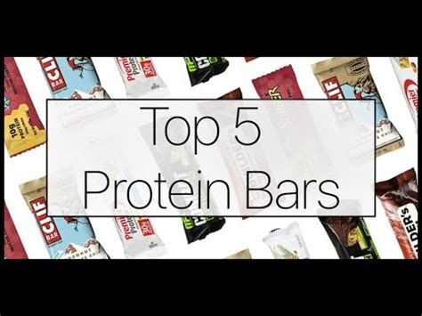 Top 5 Protein Bars by Top 5 Protein Bars How To Choose A Protein Bar Prodigy Within Me