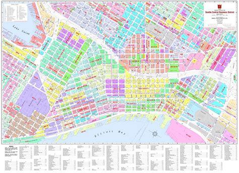 seattle zoning map gis seattle cbd zoning kroll map company