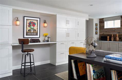 arlington home interiors vintage modern basement update midcentury basement