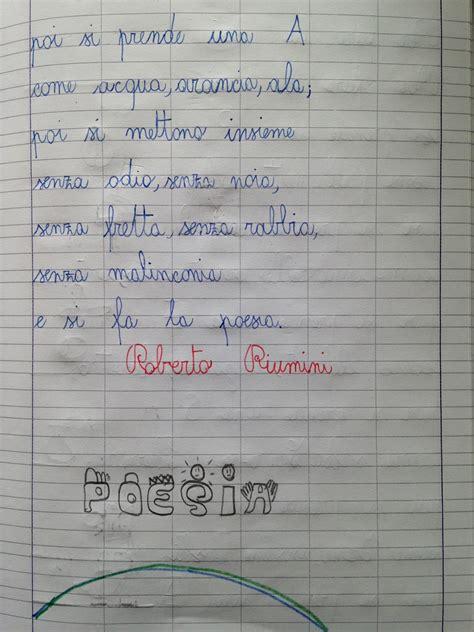 testo alla et apedario per fare la poesia 2 parte