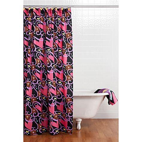 kids shower curtain hooks kids bath decor gt one grace place sassy shower curtain