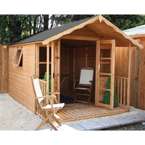 shedswarehouse oxford summerhouses installed 12ft x 8ft wessex summerhouse 12mm t g