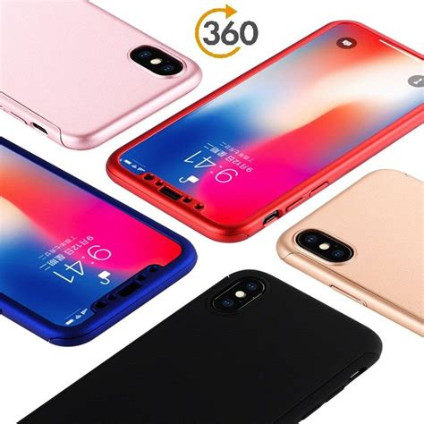 for iphone xs max 360 for iphone x xs xr 7 8 plus 6 6splus 5 hybrid