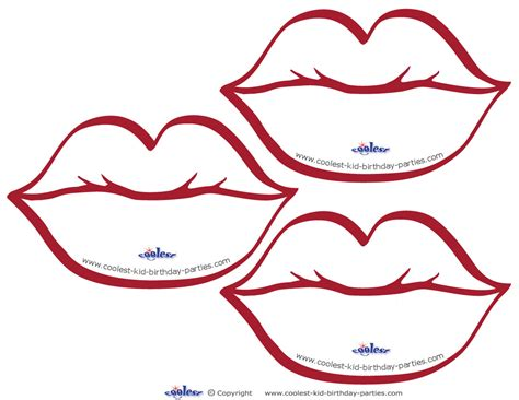 7 best images of free printable lips printable lips
