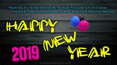 happy  year  quotes  sister latest  year wishes