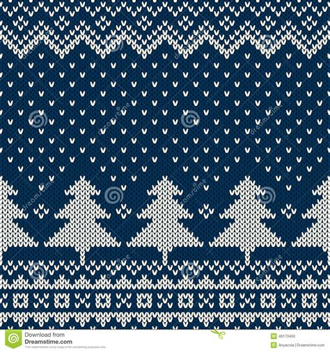 knit pattern vector winter holiday seamless knitting pattern with a christmas