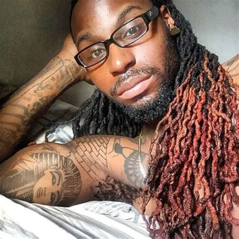 black guys dreaded dyed tips 58 black men dreadlocks hairstyles pictures posts and dreads