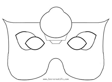 fairy mask template