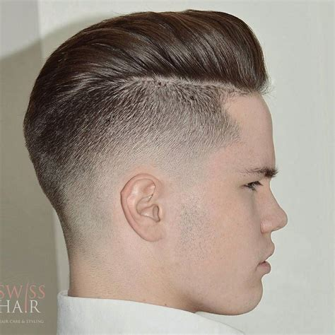pompadour haircut boys undercut hairstyle for men back view 2017