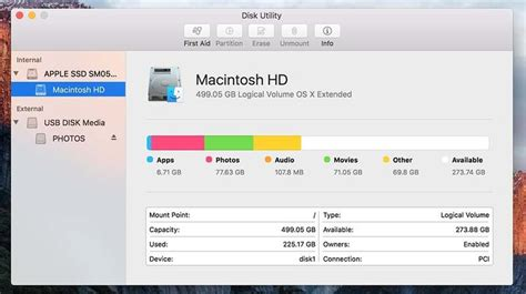 how to make room on startup disk macbook air how to use disk utility in mac os x el capitan macworld uk