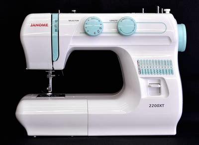 Mesin Jahit Janome 2200 jual janome 2200xt plus janome 8002d combo mesin jahit