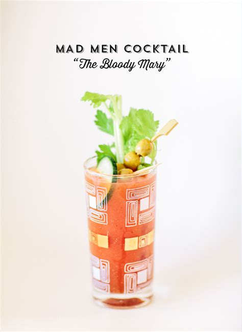 mad cocktail mad cocktail idea bloody signature cocktail