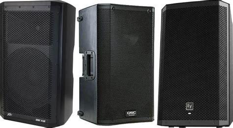 best speakers the top 10 best powered pa speakers gearank