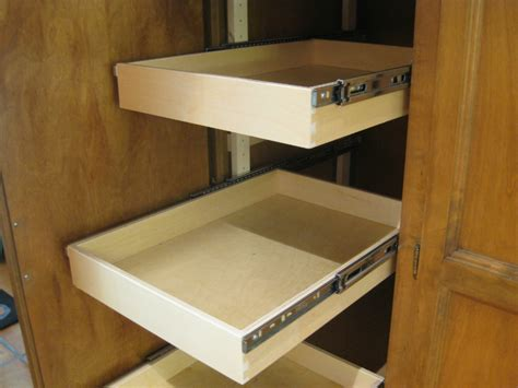 Pantry Sliding Shelves by Sliding Pantry Shelves