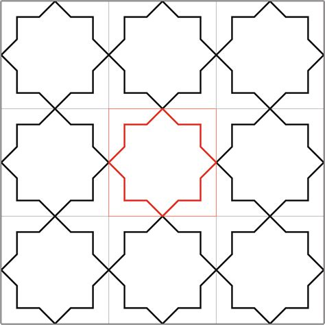 islamic pattern grid pattern 3 school of islamic geometric design