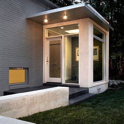 great contemporary side entrance   modern front
