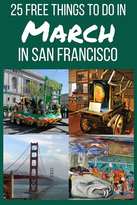 7 Things To Do In San Francisco by 25 Free Things To Do In San Francisco In March