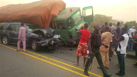 death men in nigeria nine killed as train hits truck in lagos vehicles crash
