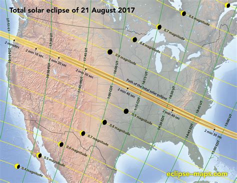 eclipse 2017 map 2017 the solstice by marciniak