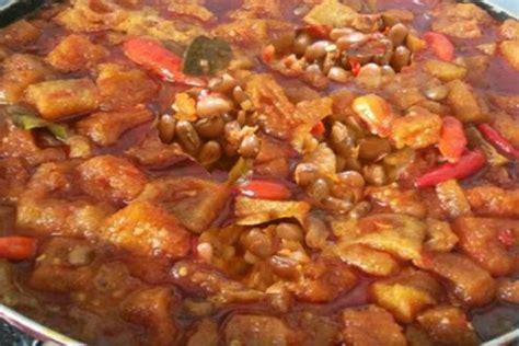 resep sambal goreng krecek kacang tolo cabe rawit pedas