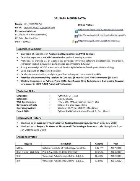 software testing resume for freshers sles resume format for software testing fresher resume