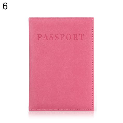 Id Card Holder Id Card Cover Id Card Kulit Id Card Name Tag 288 travel passport id card cover holder faux leather