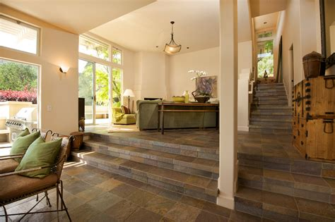 slate floors in living room great slate tile decorating ideas