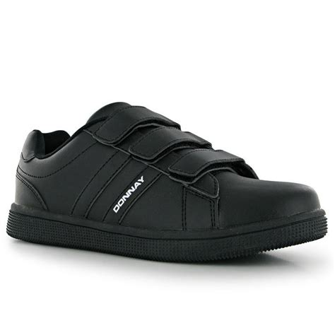 mens velcro athletic shoes donnay mens gents velcro tennis sport shoes trainers
