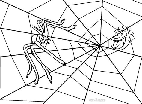 coloring page websites print printable spider web coloring pages for kids cool2bkids