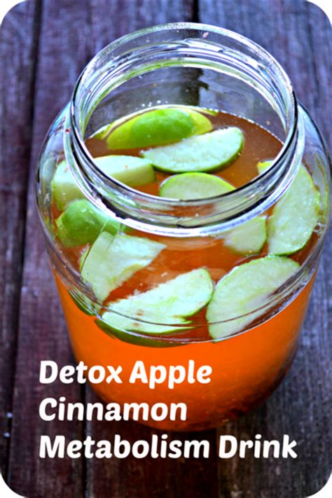 Detox Drink With Apple And Cinnamon by Apple Cinnamon Metabolism Detox Drink Recipe By April