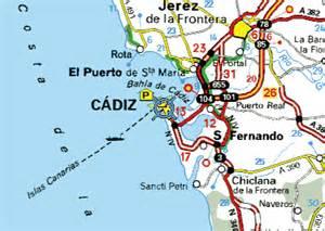 Cadiz Spain Map by Cadiz Spain Map Related Keywords Amp Suggestions Cadiz