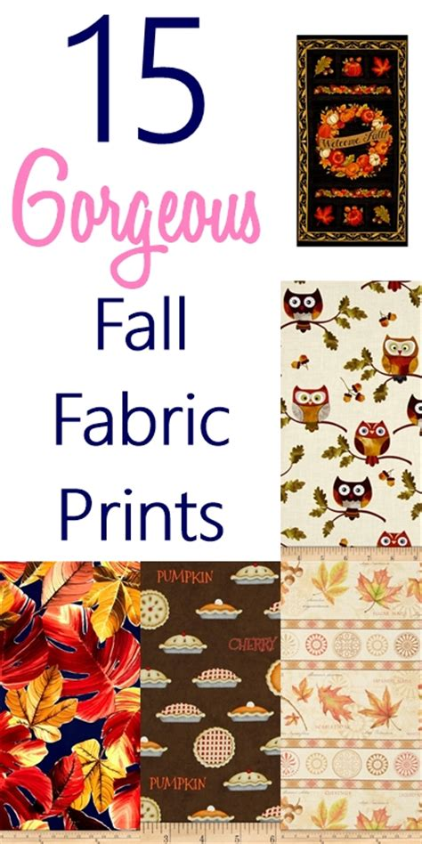 15 gorgeous fall home decor ideas craft o maniac 15 gorgeous fall fabric prints sew some stuff