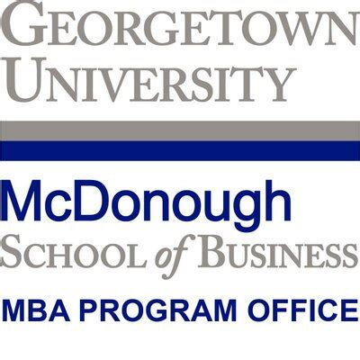 Course Duration Of Mba In Uk by Georgetown Mba Msb Mba