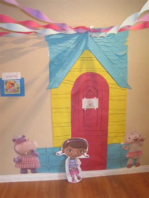 doc mcstuffins playhouse doc mcstuffins playhouse clinic back drop doc party