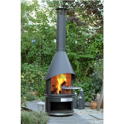Outdoor Steel Fireplace by Outdoor Fireplaces From Robeys In Derbyshire