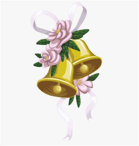 Wedding Bell Vector by Vector Wedding Bells Hd Photo Vector Material Png Free