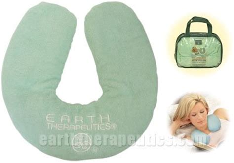 relaxing microwaveable comfort wrap earth therapeutics relaxing microwavable neck pillow