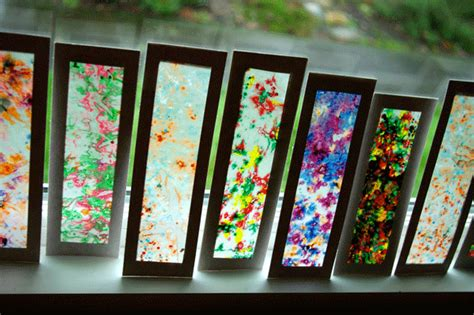 Craft Wax Paper - 25 kid friendly rainy day crafts that are for parents